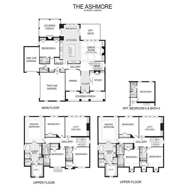 Ashmore Floor Plan