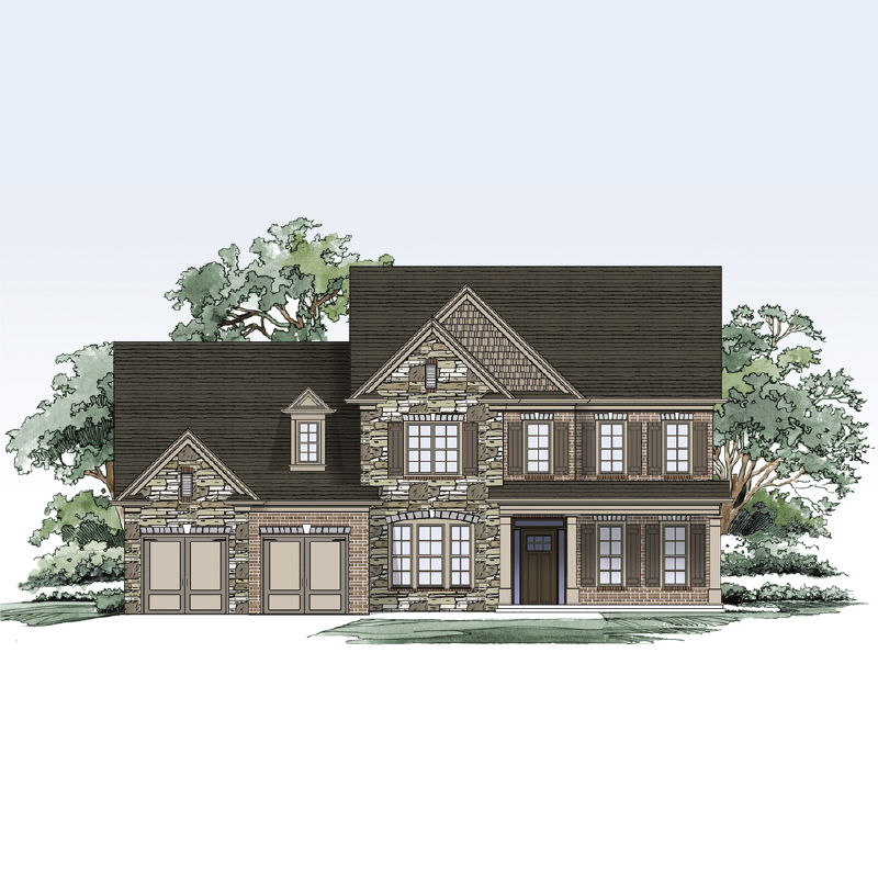 Brentwood II Elevation