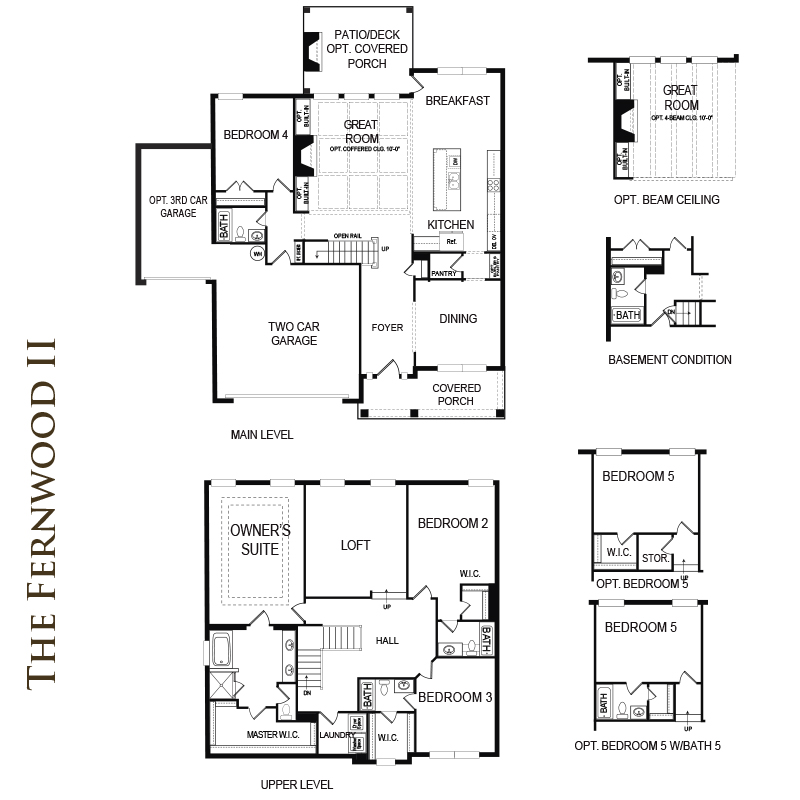 Fernwood II Floor Plan