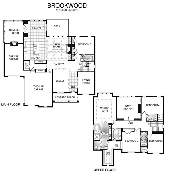 Brookwood Floor Plan