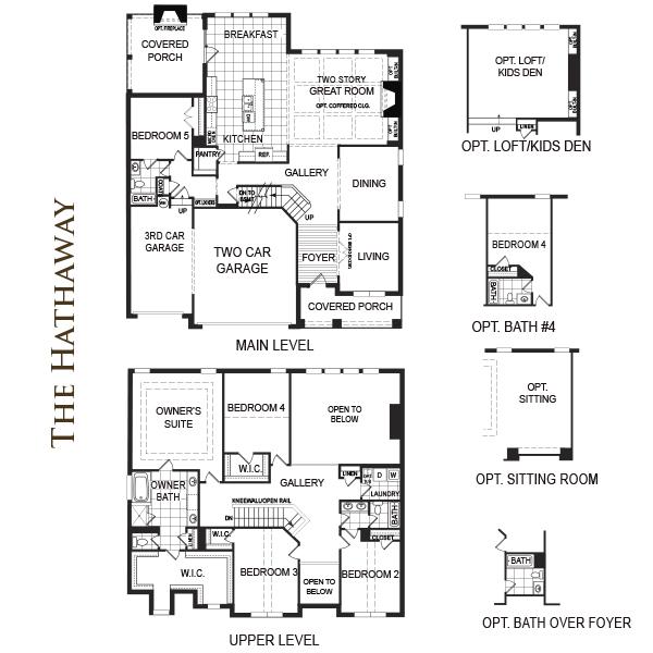 Parkside landing home south communities for Highgrove house floor plan
