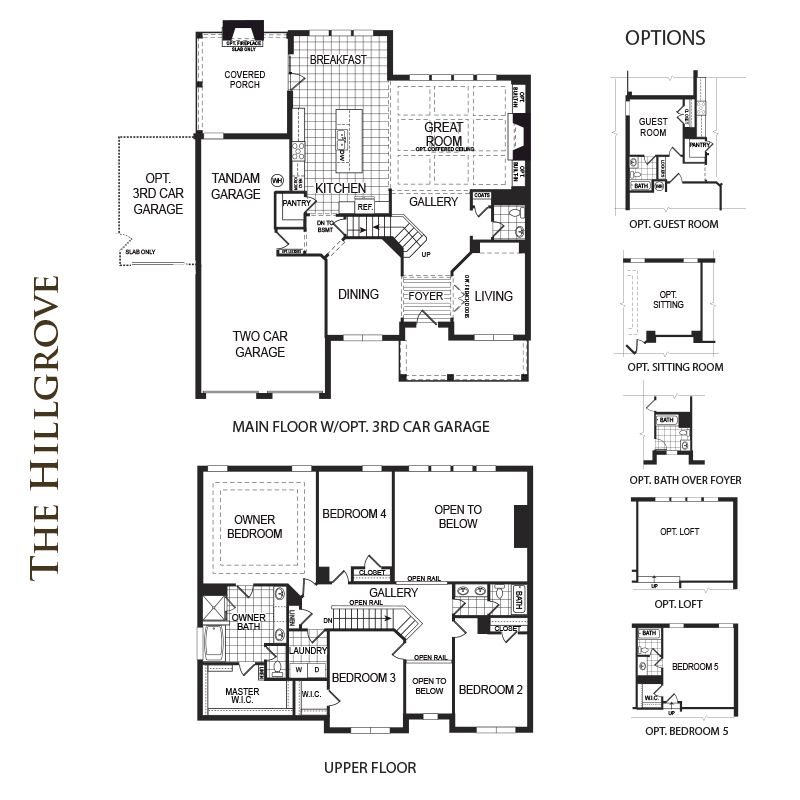 Hillgrove Floor Plan