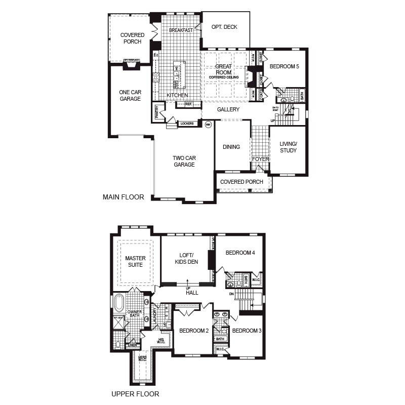 Brookwood Floor Plan
