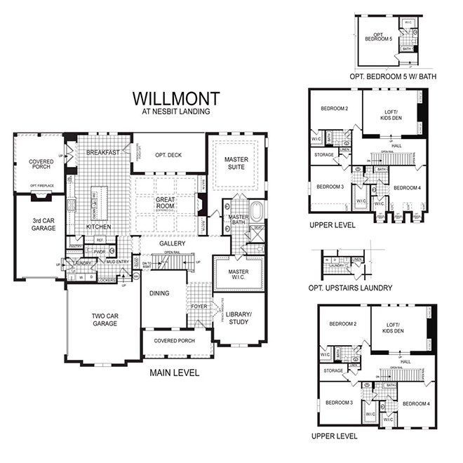 Willmont Floor Plan
